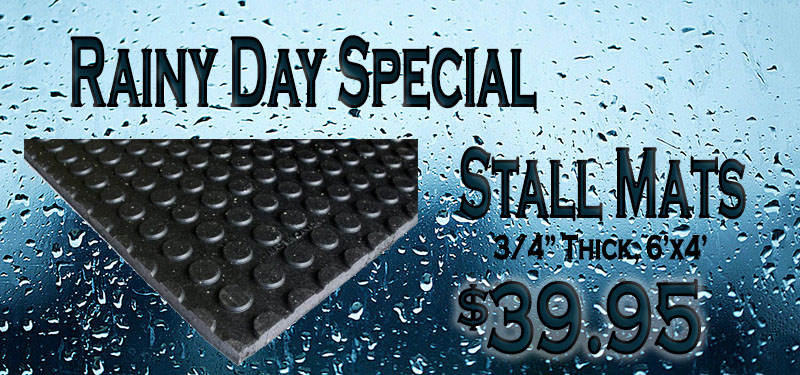 Rainy Day Special: Stall Mats